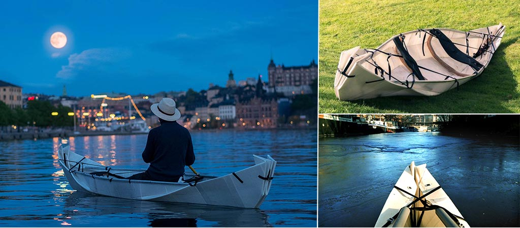 Onak | The Origami Foldable Canoe
