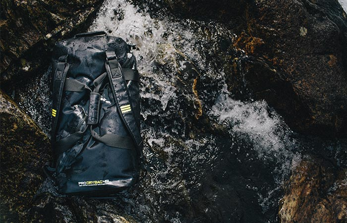 Subtech Pro Drybag On Water