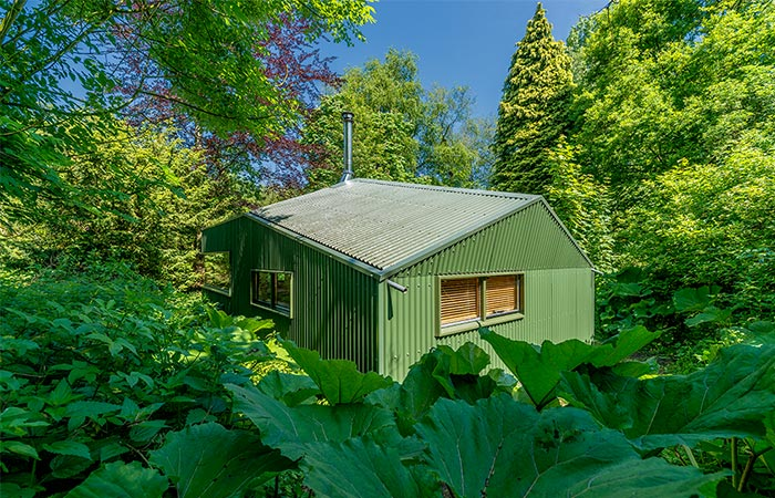 Thoreau Cabin In The Woods