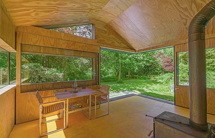 The Eating Area In Thoreau Cabin