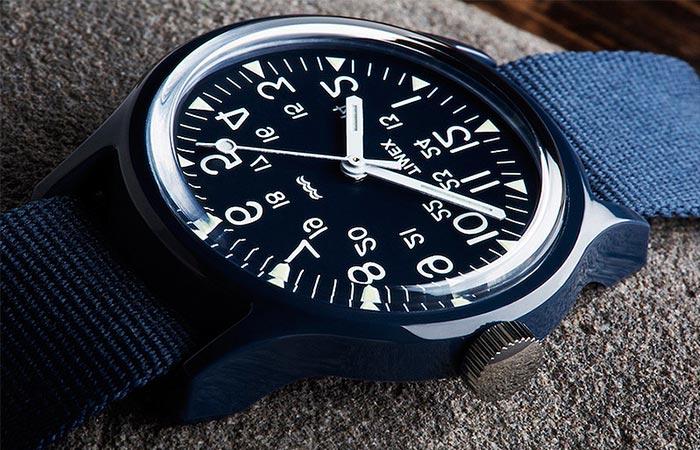Black Timex Camper Watch