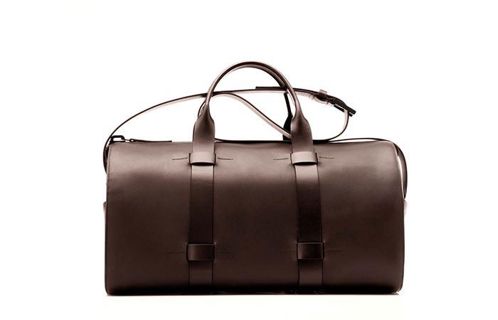 Brown Troubadour Day Bag