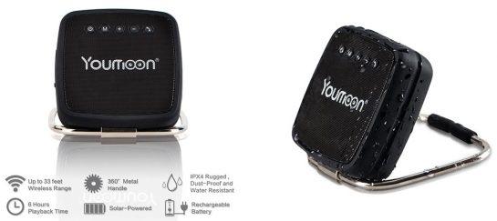 Youmoon | Solar-Powered Bluetooth Speaker