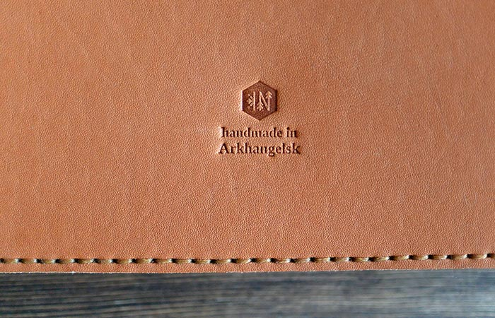 Stamp On iPad Leather Folio