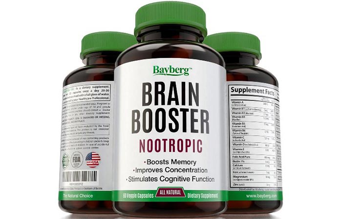 Bayberg Brain Booster Nootropic