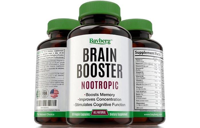 Bayberg Brain Booster Nootropic