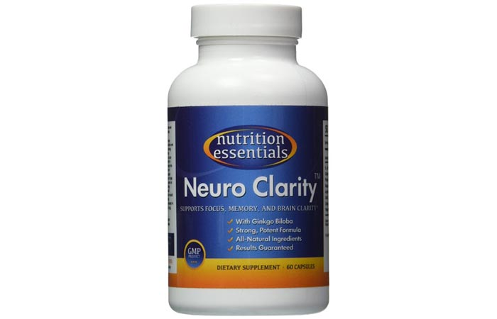 Nutrition Essential's Neuro Clarity