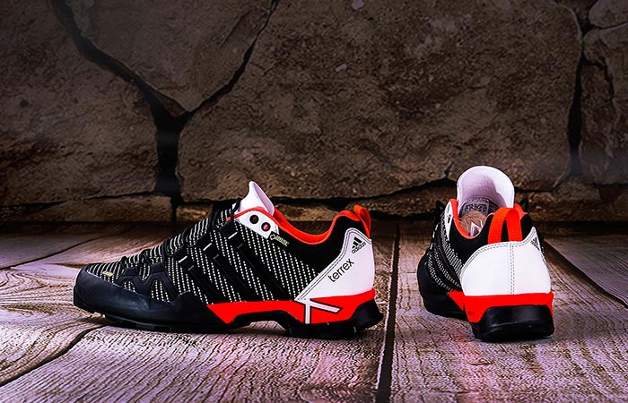 Red Adidas Terrex Scope GTX Shoes