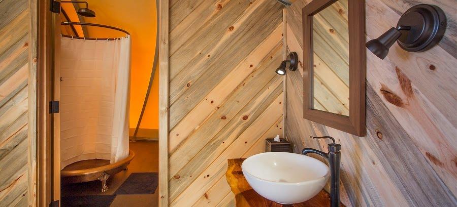 The Autonomous Tent Bathroom facilities