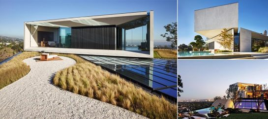 Director Michael Bay's Modern Three-Story Los Angeles Villa