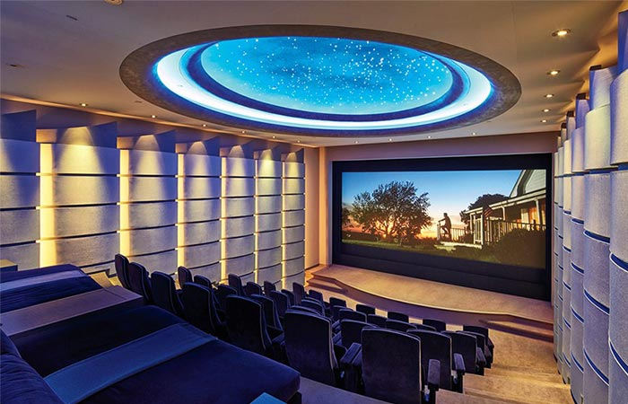 Theatre In Michael Bay's LA Home