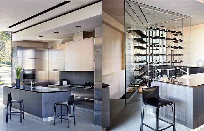 Kitchen At Michael Bay's LA Home