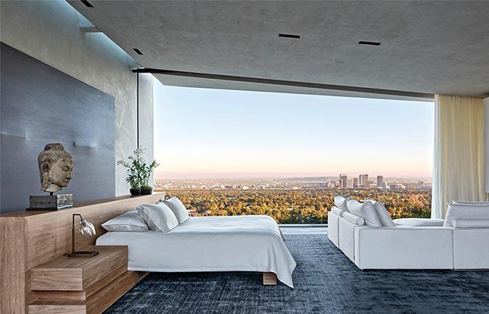 Master Bedroom At Michael Bay's LA Home