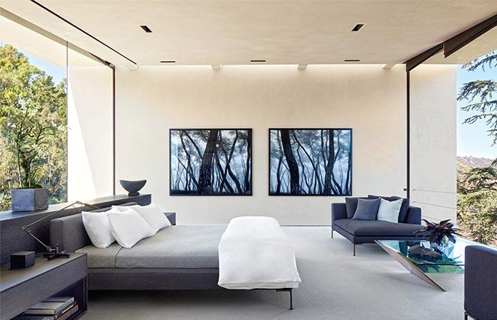 Guest Room At Michael Bay's LA Home