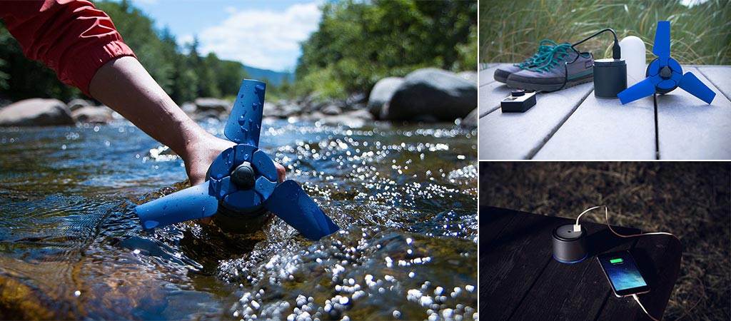 Estream | A Portable Water Power Generator