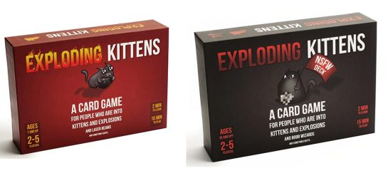Exploding Kittens | A Card Game About Kittens And Explosions (Reg & NSFW)