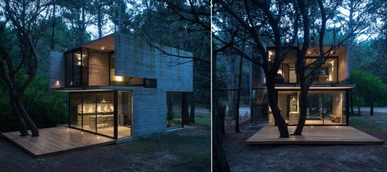H3 House | A Minimalistic Summer Holiday House On The Argentinian Coast