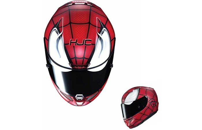 HJC Spiderman helmet