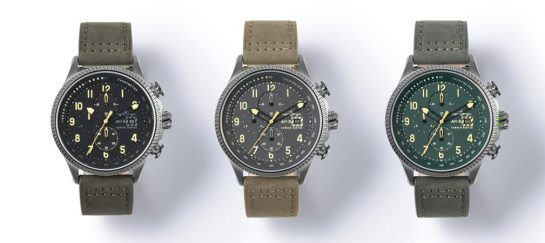 Hawker Hunter Watch Collection | By AVI-8