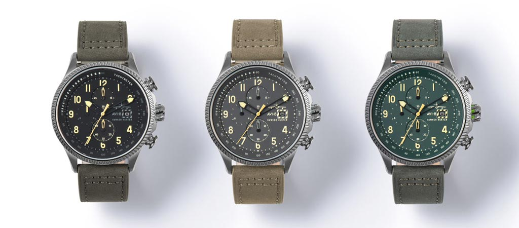 Hawker Hunter Watch Collection by AVI-8