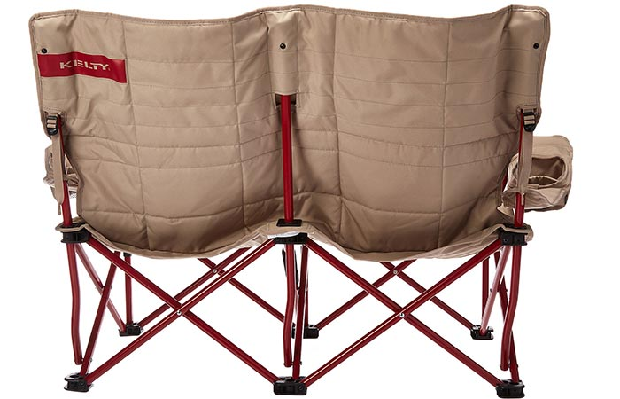 Back of the Kelty Low Loveseat