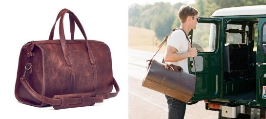Leon Weekender | Handmade Leather Bag