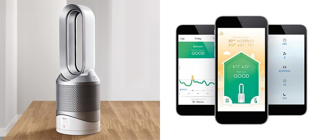 New Dyson Pure Hot Cool Link Heats Cools And Purifies