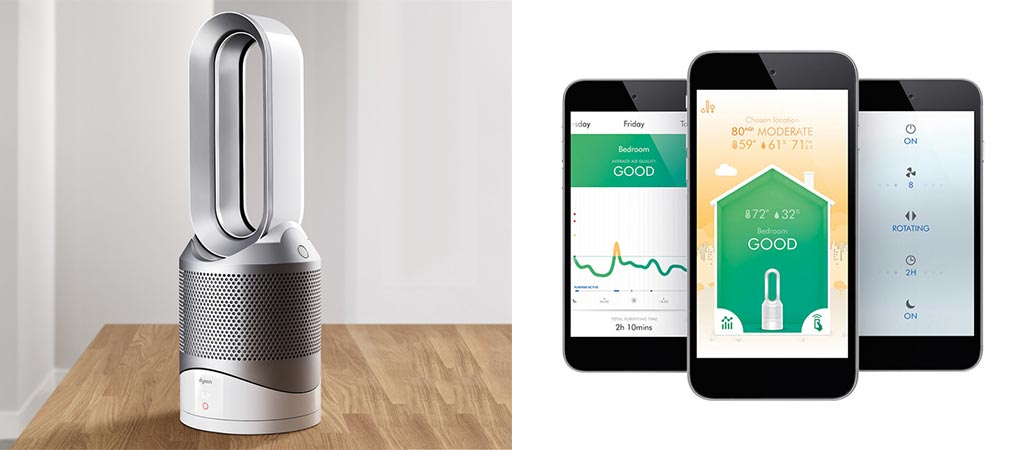 New Dyson Pure Hot+Cool Link Heats, Cools And Purifies Air