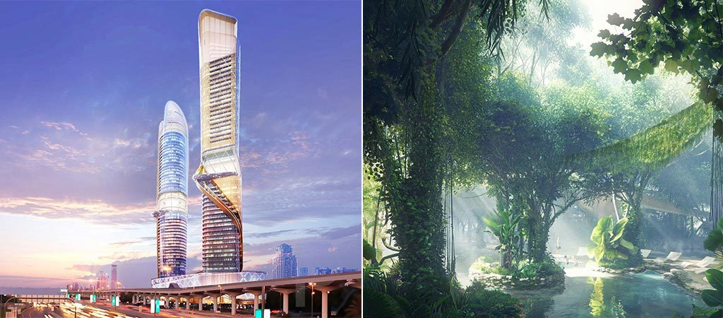 New hotel with a rainforest to be opened in dubai jebiga for The newest hotel in dubai