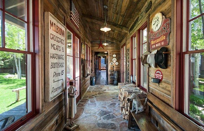 Sunset Ranch Hallway