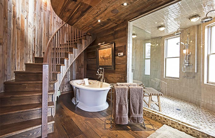 Sunset Ranch Bath