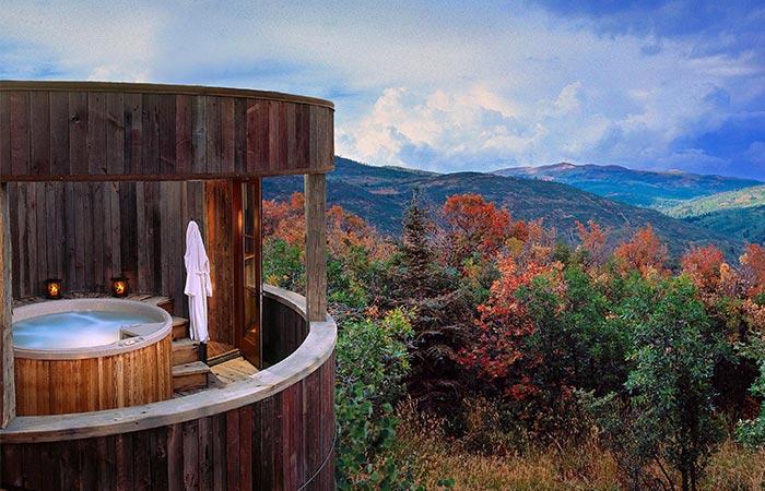 Sunset Ranch Hot Tub
