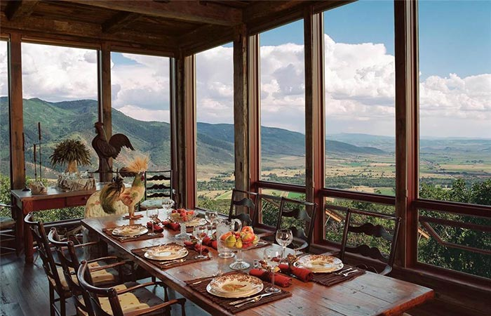 Sunset Ranch Dining Room