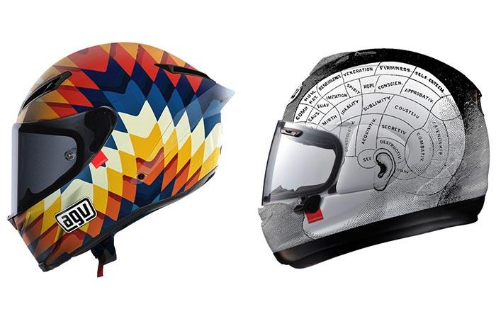 Two Hello Cousteau Helmets