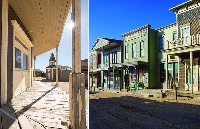 Western Movie Town In Tom Ford's Santa Fe Ranch