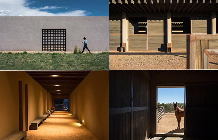 The Barn In Tom Ford's Santa Fe Ranch