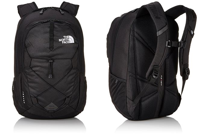 Two different views of The North Face Jester