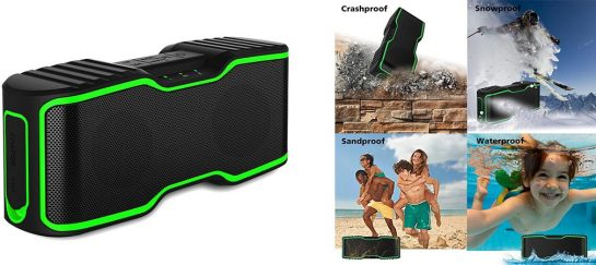 URPOWER IPX7 | Waterproof Bluetooth Speakers (With Discount)