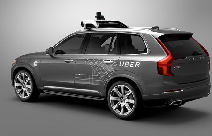Uber's Volvo XC90 SUV Driverless Car