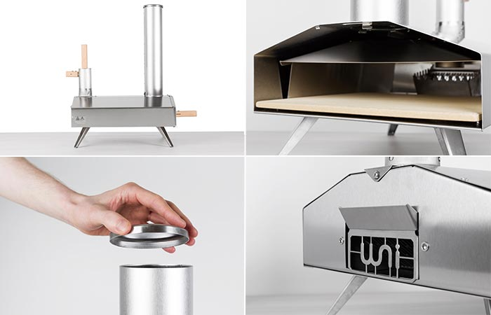 Four Images Of Uuni 2S Pizza Oven