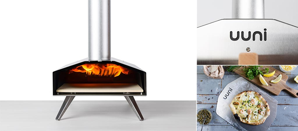 Uuni 2S Pizza Oven | Portable Wood-Fired Oven With A Stone Baking Board