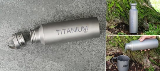 Vargo Titanium Water Bottle
