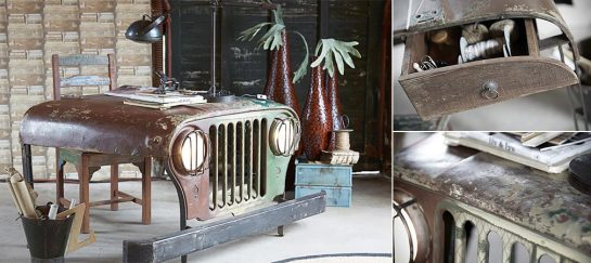 Vintage Jeep Desk | By Canett Furniture
