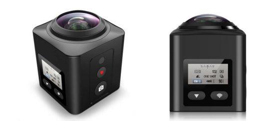 X5 WiFi Panoramic 220-Degree HD Sport Camera