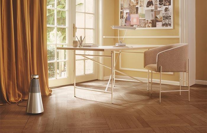 Bang & Olufsen BeoSound 2 Speaker On The Floor