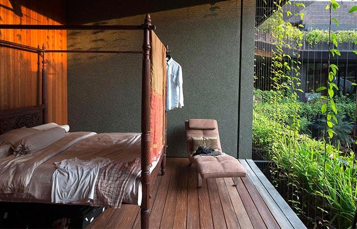 Cornwall Gardens Master Bedroom