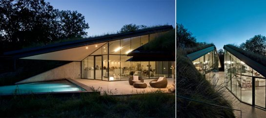 Edgeland House | Modern Re‐interpretation Of The Native American Pit House