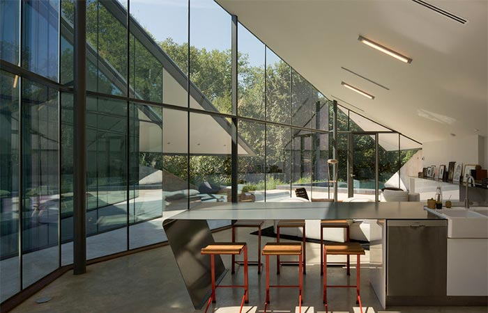 The Interior Of Edgeland House