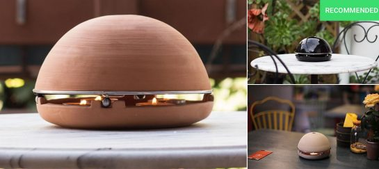 Egloo | Candle Powered Alternative Domestic Heater