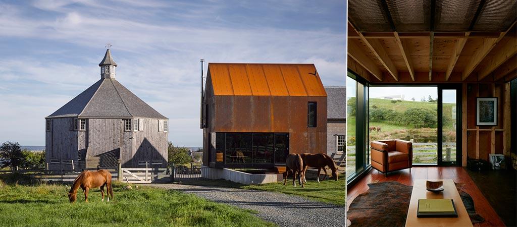 Enough House   A Contemporary Addition To An Old Nova Scotia Farm